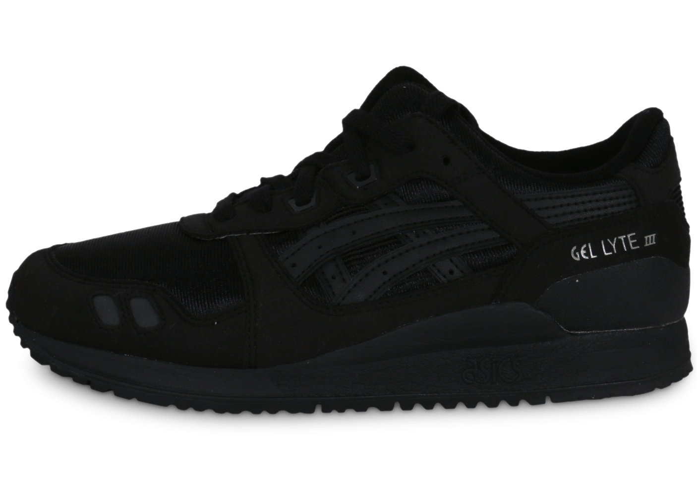 asics gel lyte 3 junior noire chaussures chaussures chausport. Black Bedroom Furniture Sets. Home Design Ideas
