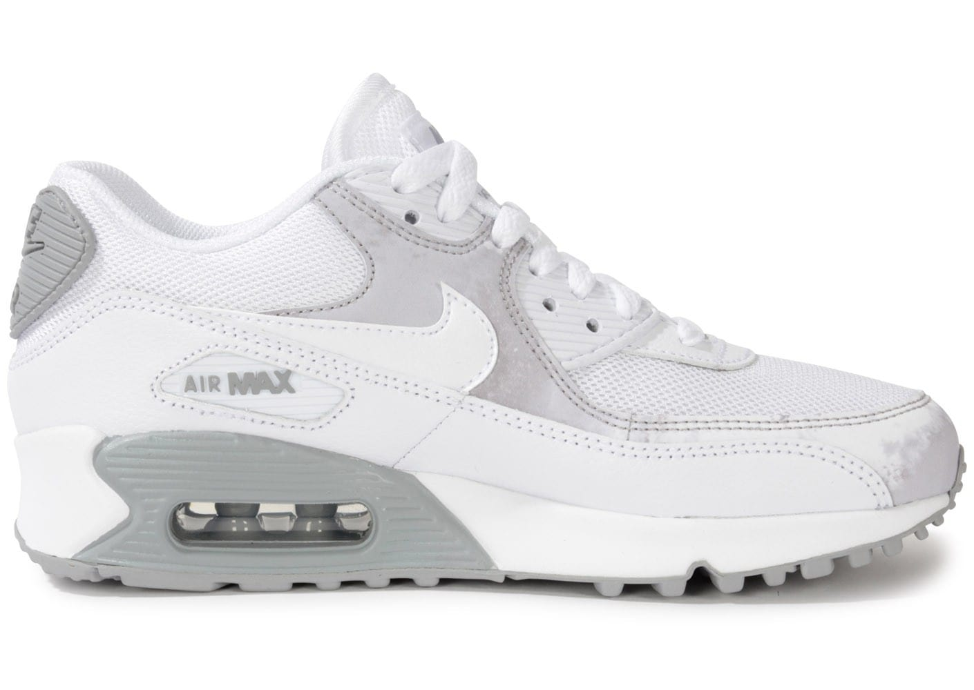detailed look f8914 5ec1d nike air max 90 blanc