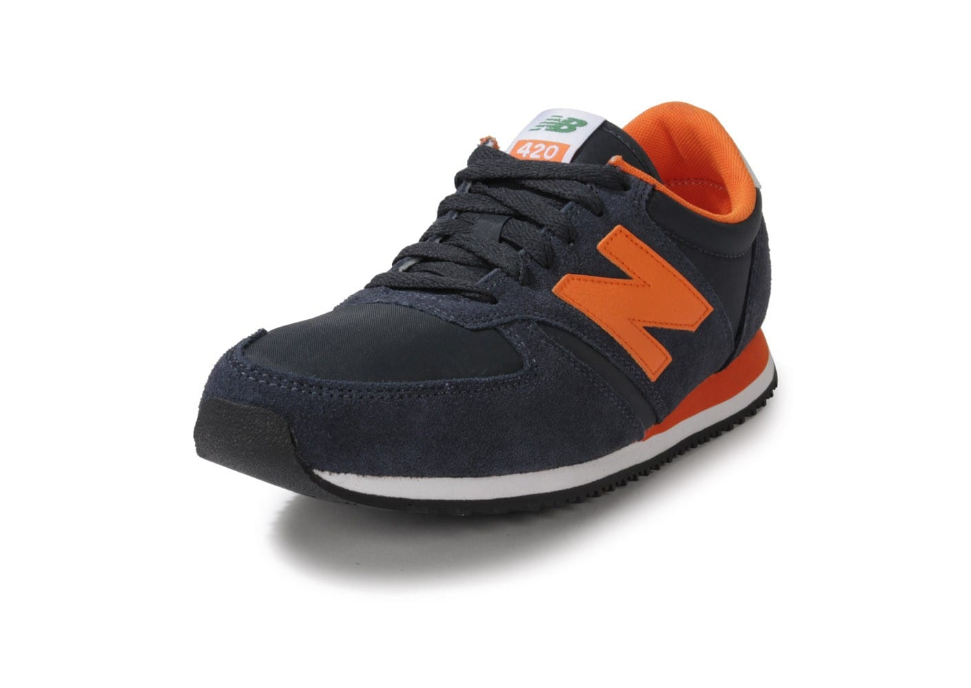New Balance U420 Bleu Marine Orange