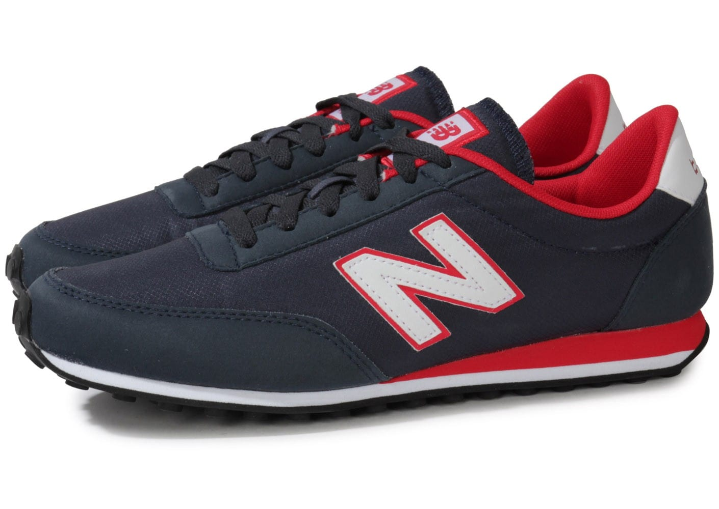 new balance u410 bleu marine rouge chaussures homme. Black Bedroom Furniture Sets. Home Design Ideas