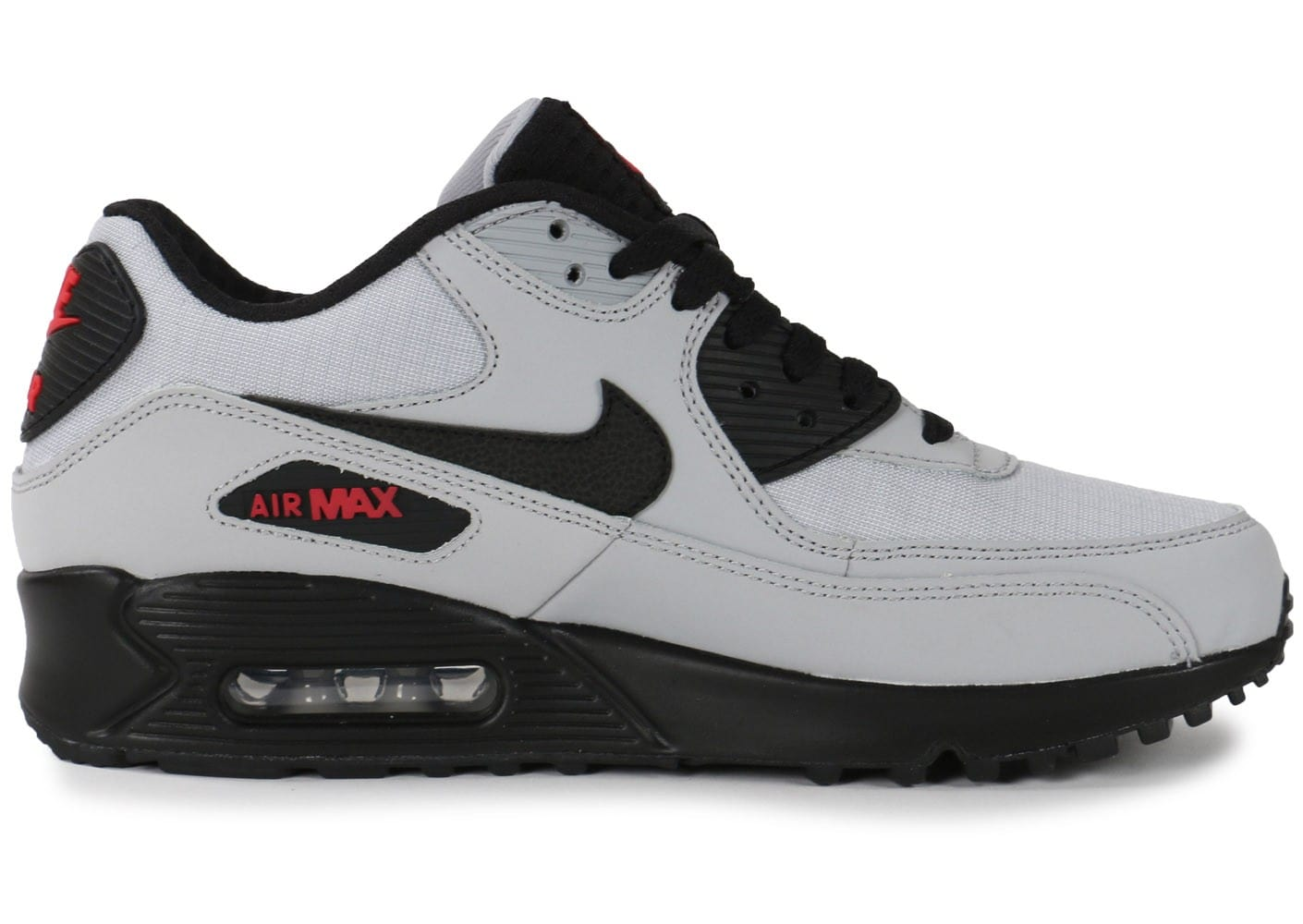 Chaussures Nike Air Max 90 Essential wolf grey vue dessous