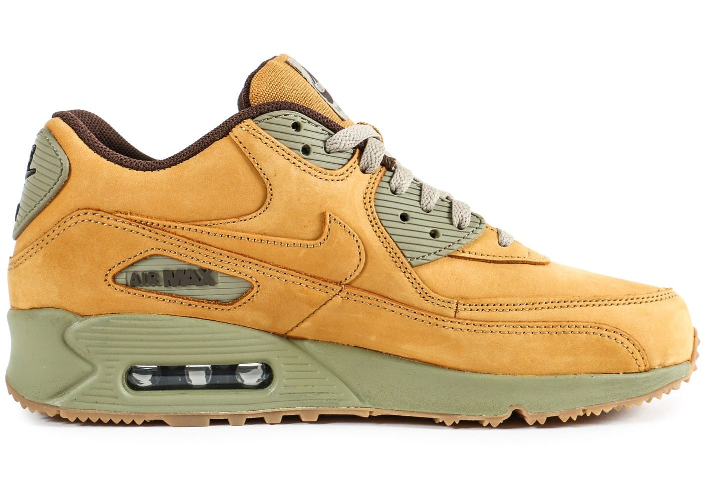 nike air max 90 winter wheat chaussures homme chausport. Black Bedroom Furniture Sets. Home Design Ideas