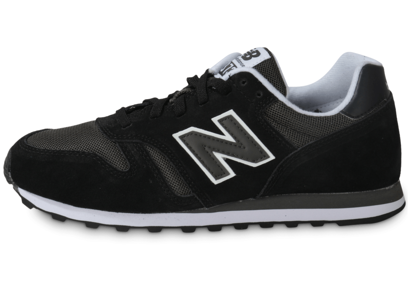 new balance ml373 mmc noire chaussures homme chausport. Black Bedroom Furniture Sets. Home Design Ideas