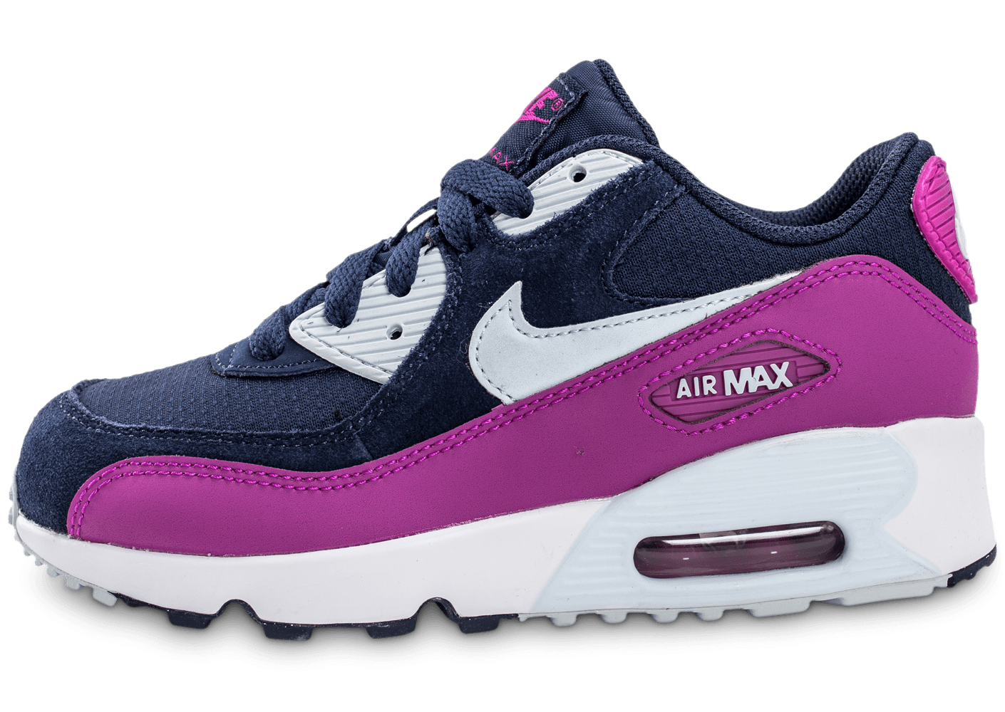nike air max 90 enfant bleu marine chaussures black friday chausport. Black Bedroom Furniture Sets. Home Design Ideas