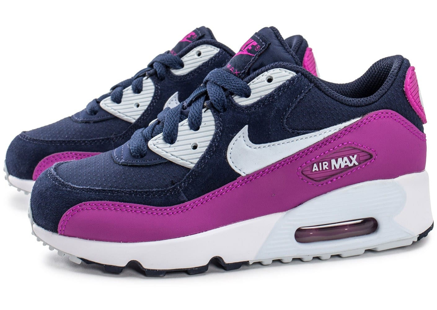 nike air max 90 enfant bleu marine chaussures 50 sur le 2e article chausport. Black Bedroom Furniture Sets. Home Design Ideas