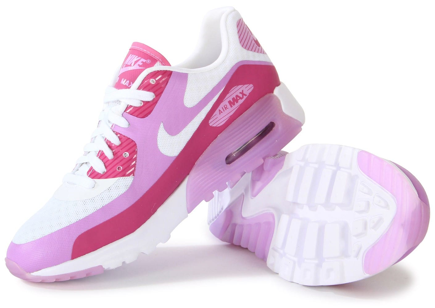 store competitive price new images of terrifiant en arrivant nike air max 90 ultra br blanche rose rose ...