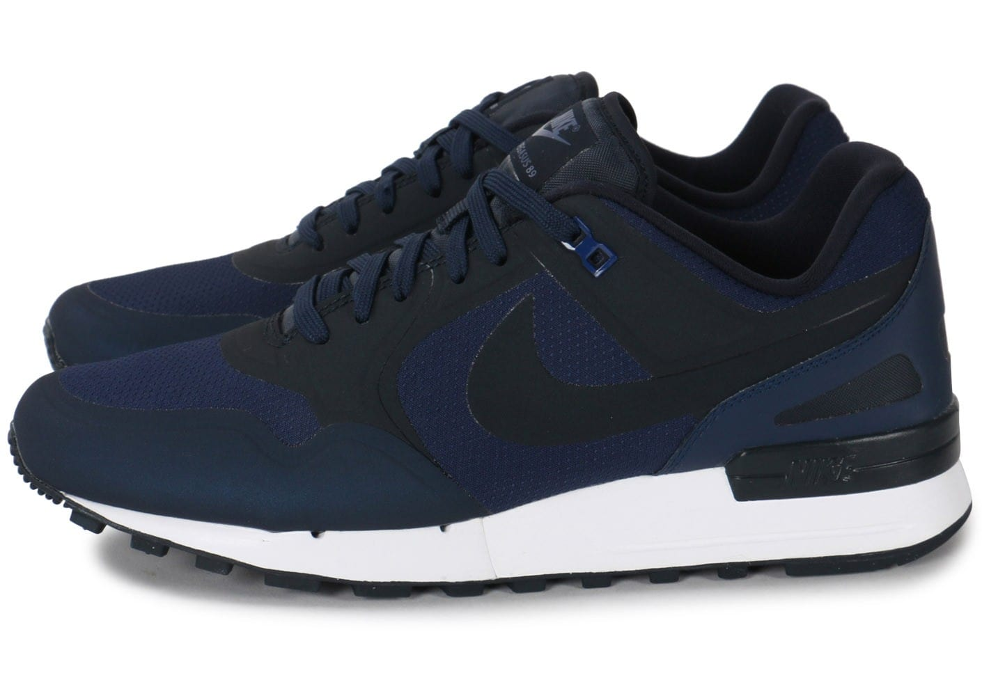 nike air pegasus 89 no sew bleue chaussures homme chausport. Black Bedroom Furniture Sets. Home Design Ideas