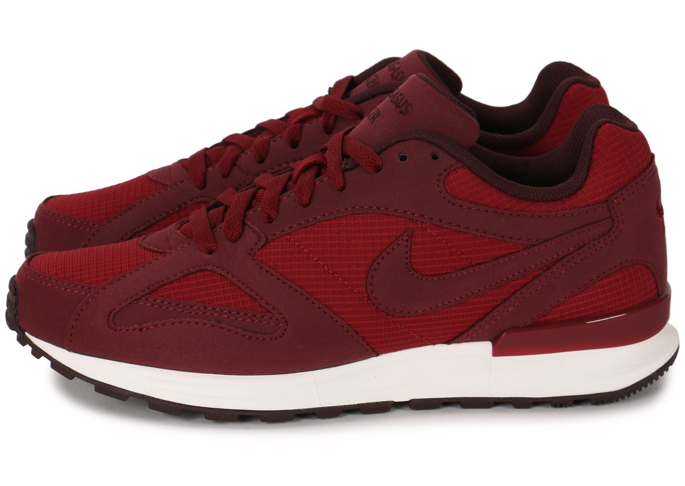 nike air pegasus new racer rouge chaussures homme chausport. Black Bedroom Furniture Sets. Home Design Ideas