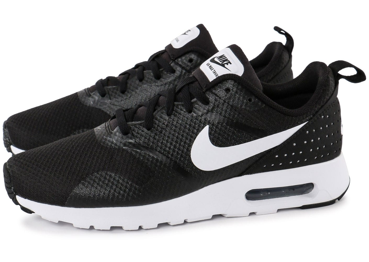 soldes nike air max tavas noire chaussures homme chausport. Black Bedroom Furniture Sets. Home Design Ideas