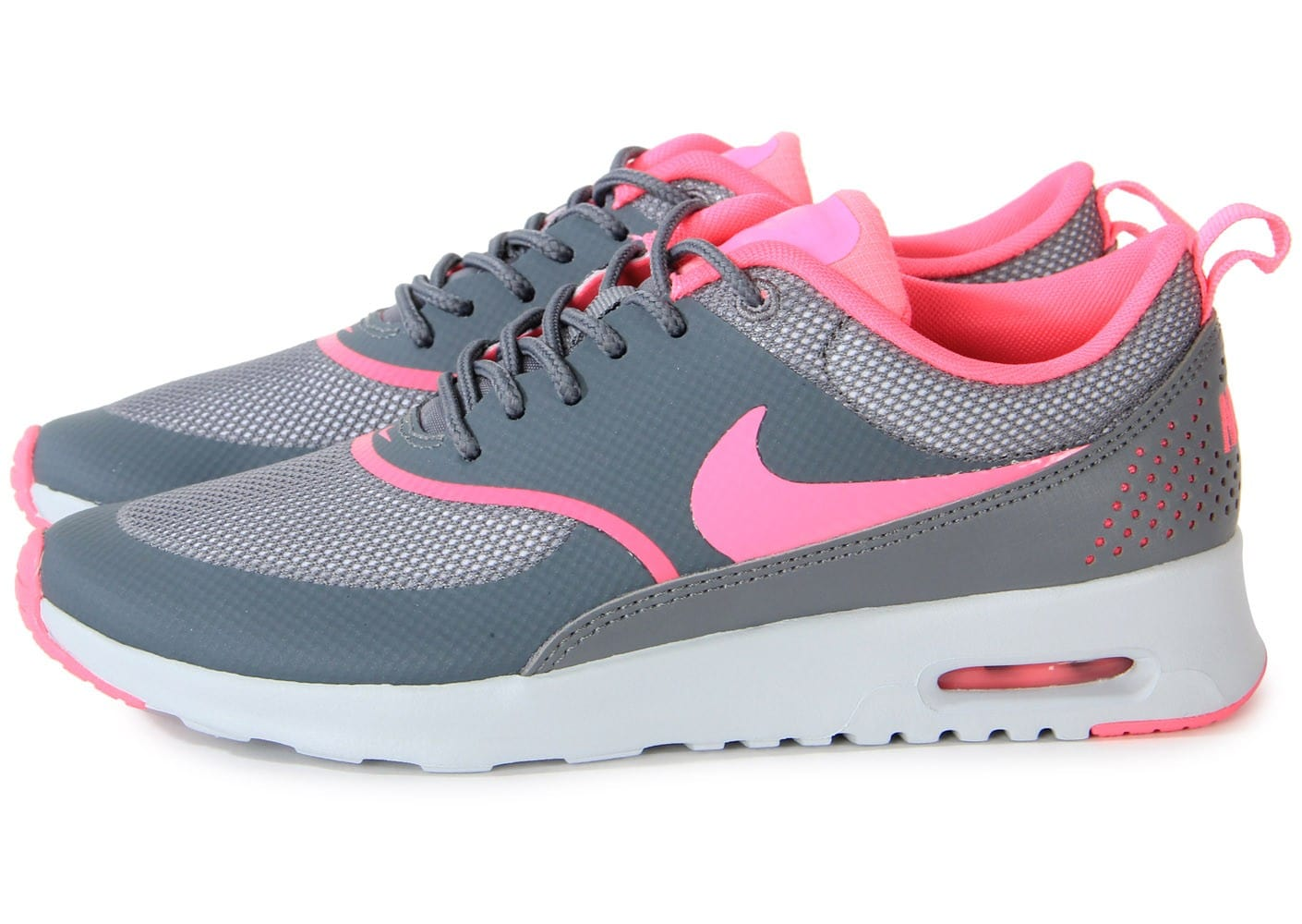 nike air max thea cool grey rose chaussures chaussures chausport. Black Bedroom Furniture Sets. Home Design Ideas