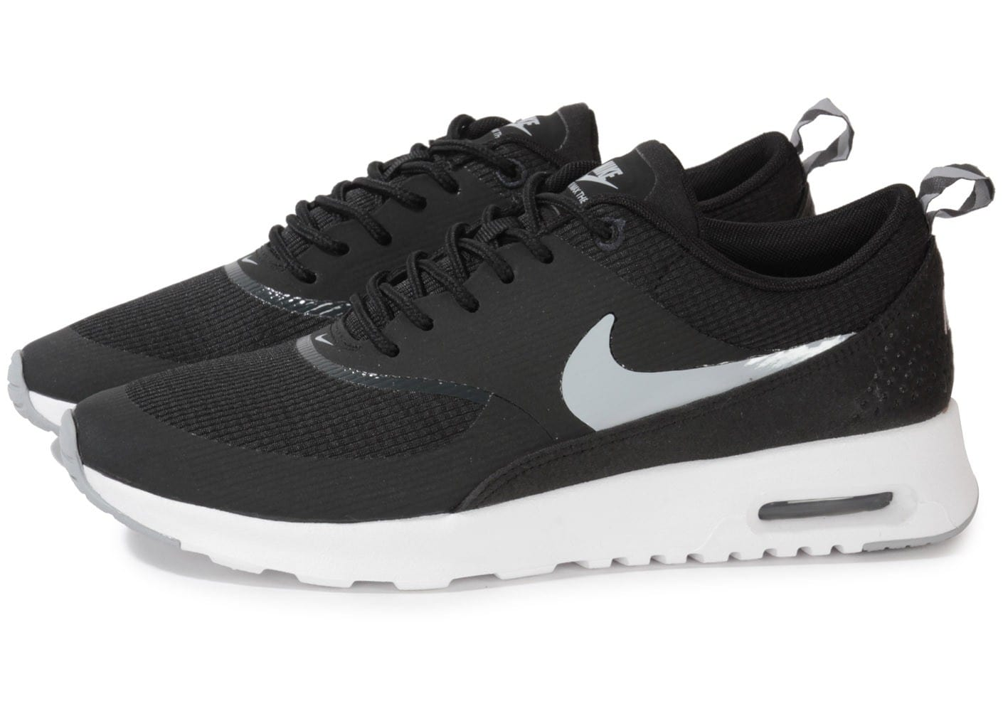 nike air max thea noire blanche chaussures chaussures chausport