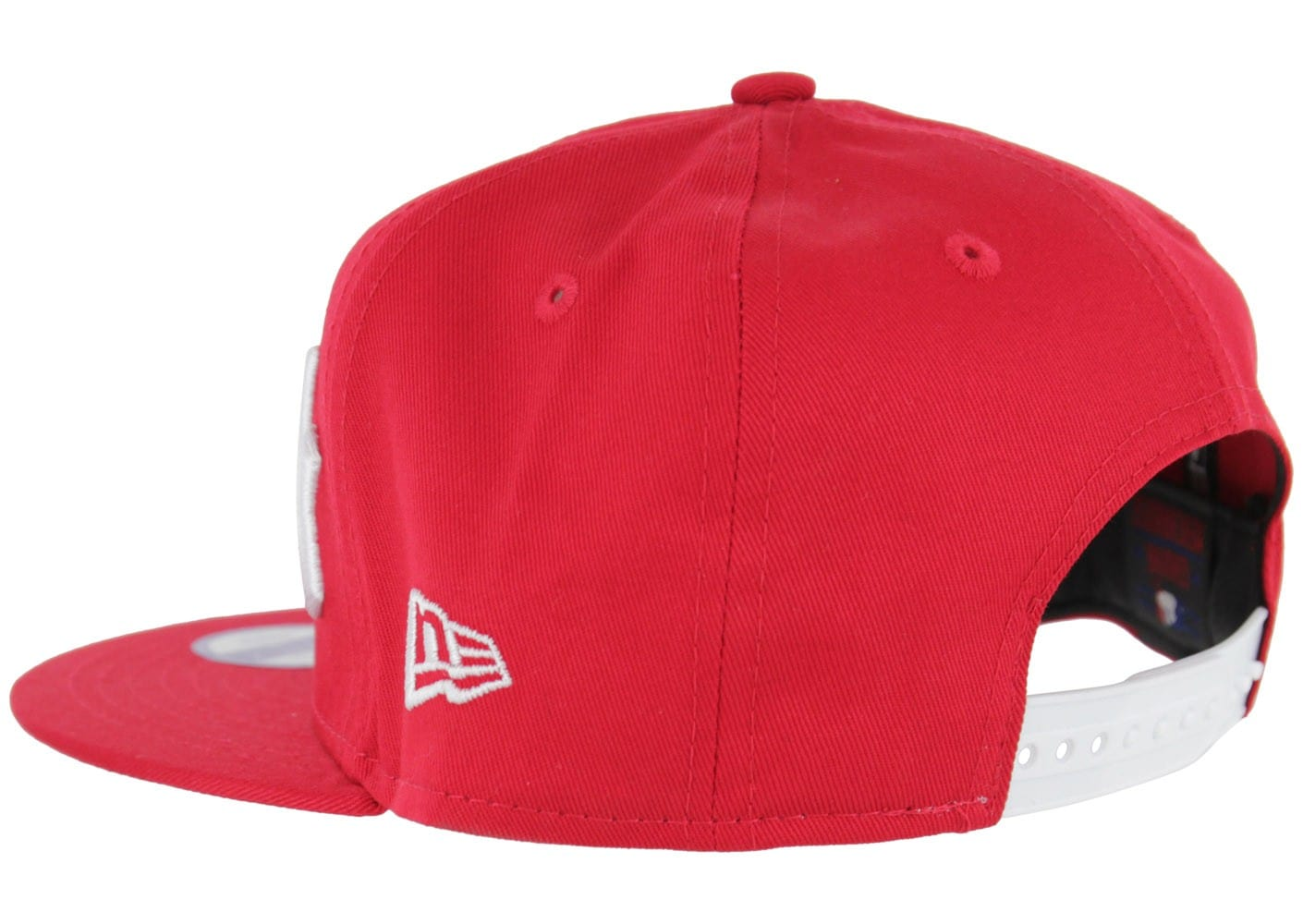 new era casquette snapback ny wordmark rouge accessoires chausport. Black Bedroom Furniture Sets. Home Design Ideas