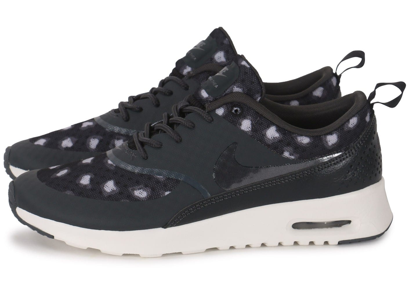 nike air max thea print leopard anthracite chaussures chaussures chausport. Black Bedroom Furniture Sets. Home Design Ideas
