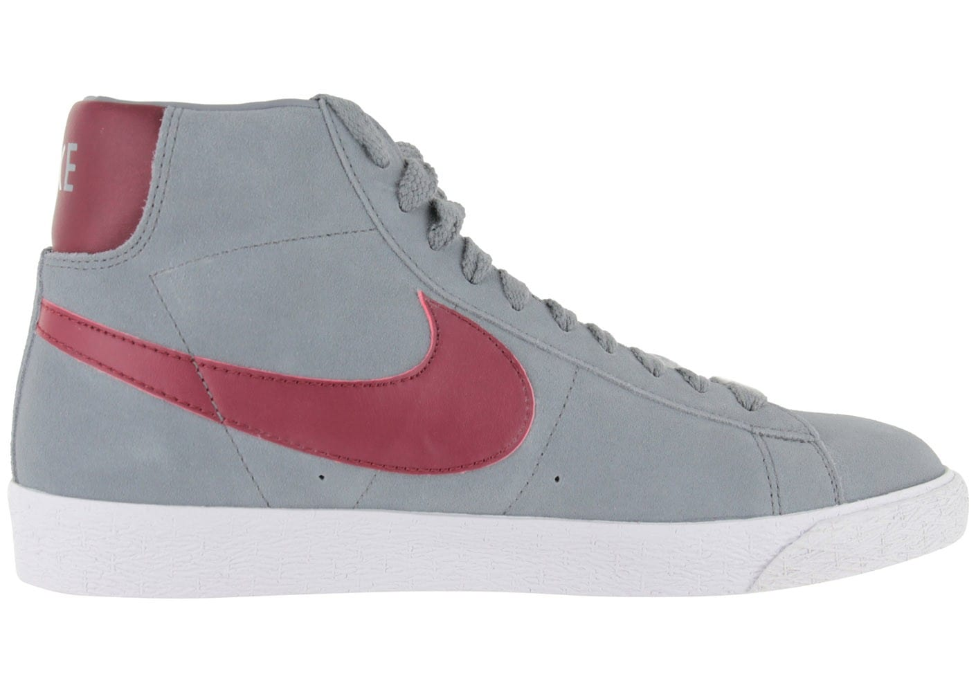 nike blazer grise rouge chaussures homme chausport. Black Bedroom Furniture Sets. Home Design Ideas