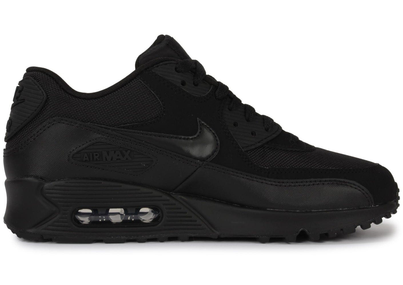 nike air max 90 noire chaussures baskets homme chausport. Black Bedroom Furniture Sets. Home Design Ideas