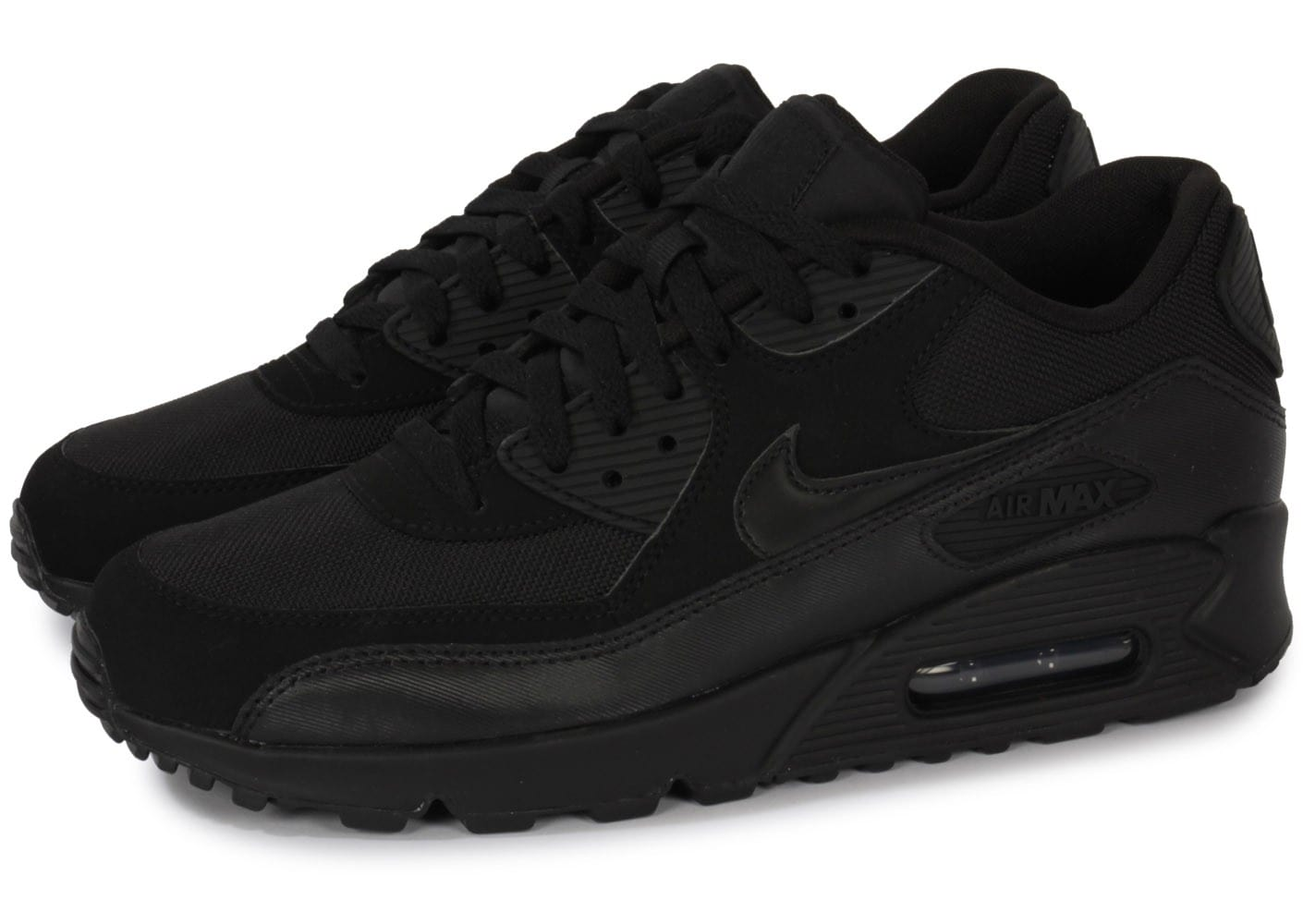 nike air max 90 noire chaussures homme chausport. Black Bedroom Furniture Sets. Home Design Ideas