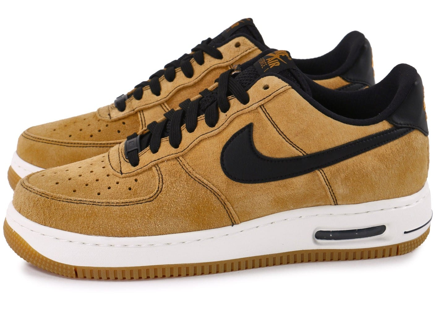 nike air force 1 elite low wheat chaussures homme chausport. Black Bedroom Furniture Sets. Home Design Ideas