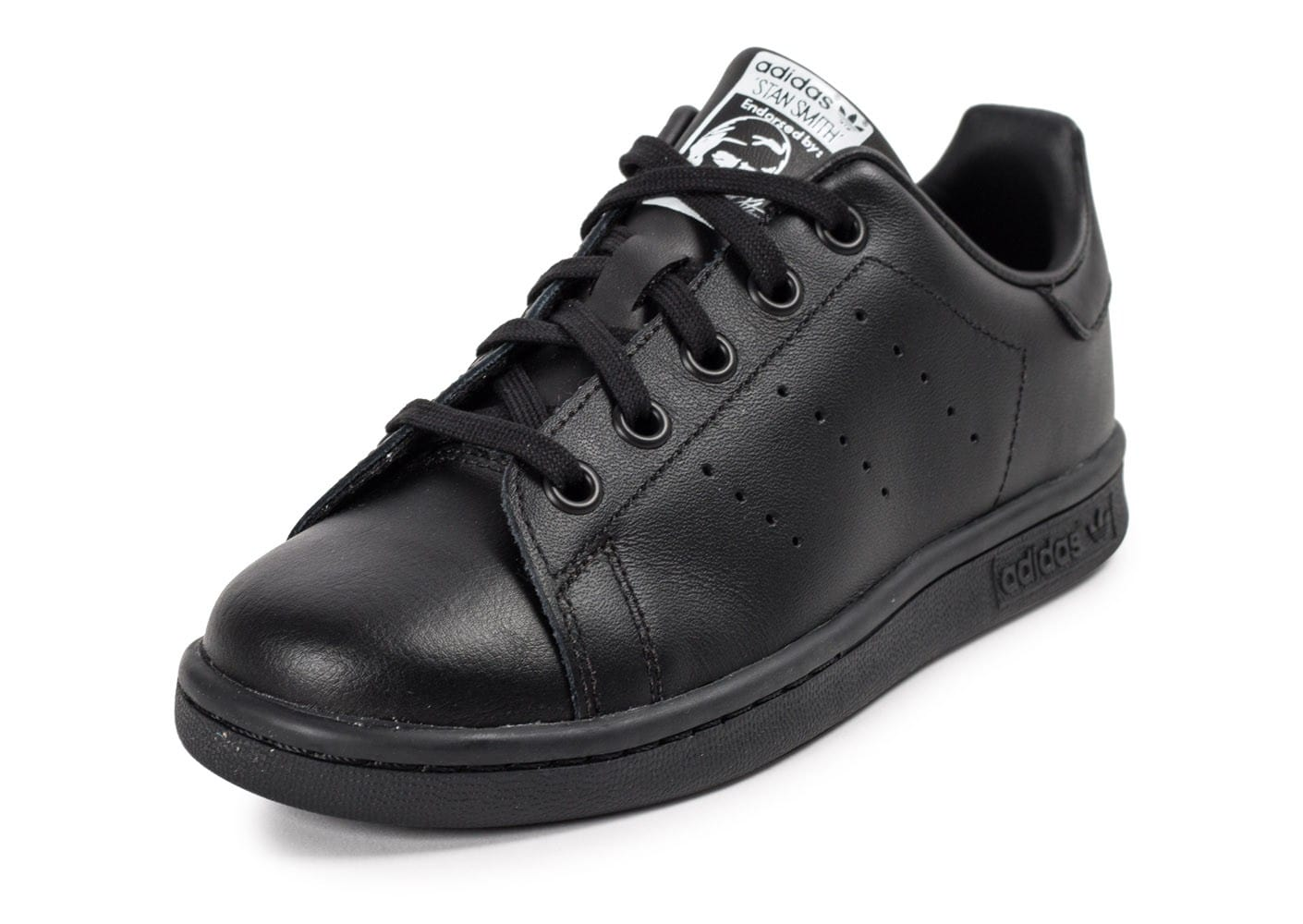 adidas stan smith enfant noire chaussures adidas chausport. Black Bedroom Furniture Sets. Home Design Ideas