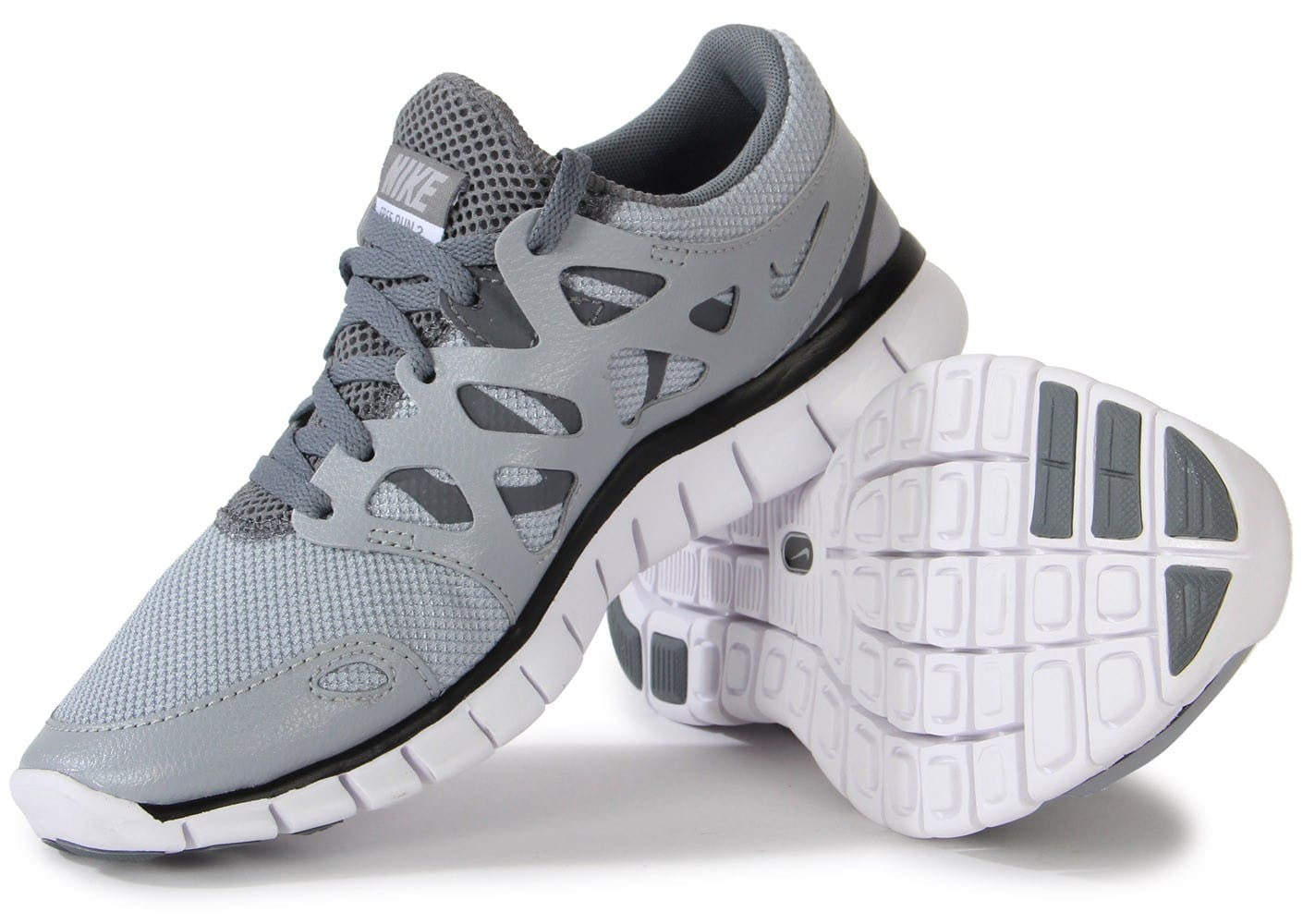 ... Chaussures Nike Free Run 2 Ext Grise vue intérieure ...