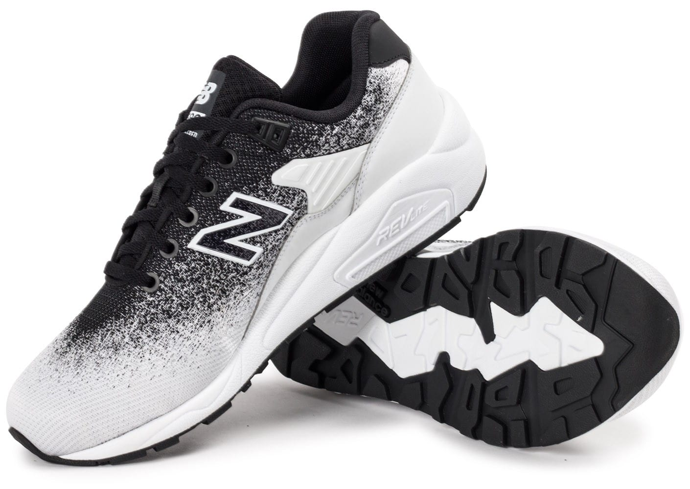 new balance 580 blanche homme