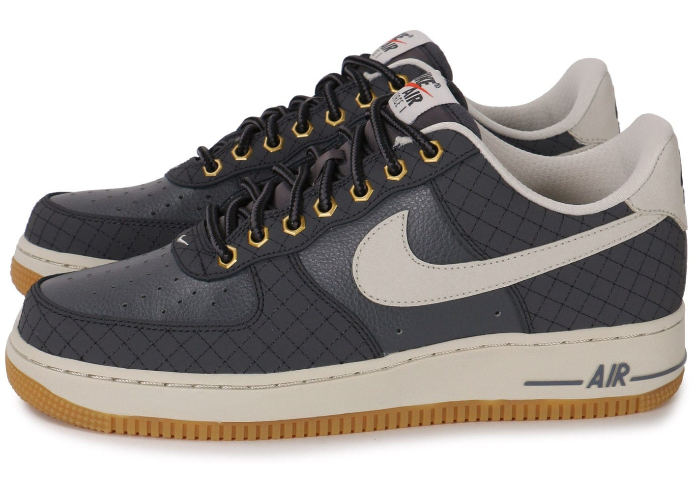 nike air force 1 low grise chaussures homme chausport. Black Bedroom Furniture Sets. Home Design Ideas