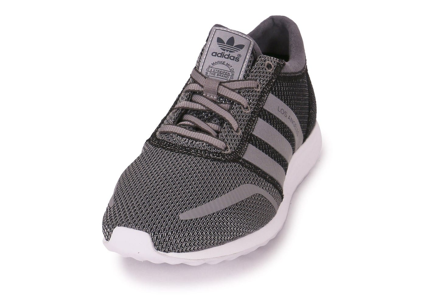 Chaussures adidas Los Angeles gris anthracite vue avant