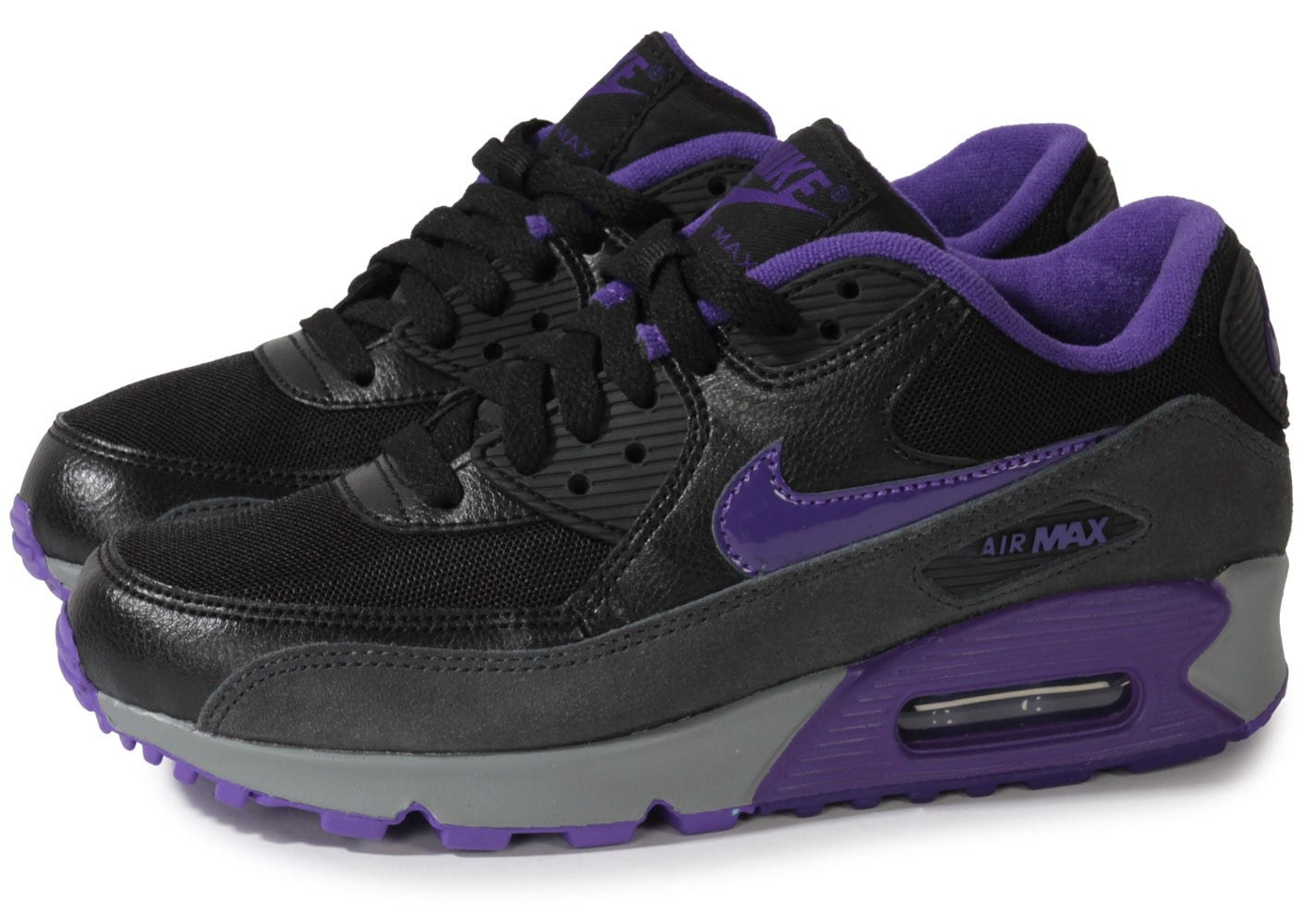 nike air max 90 essential noire chaussures chaussures chausport. Black Bedroom Furniture Sets. Home Design Ideas