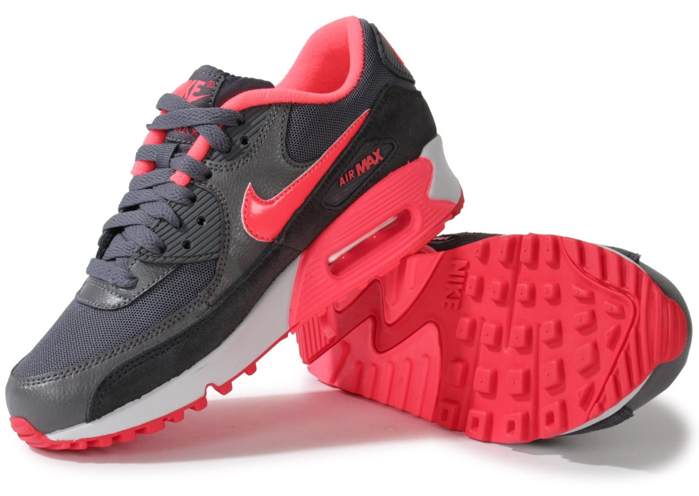 nike air max 90 essential gris rose chaussures. Black Bedroom Furniture Sets. Home Design Ideas