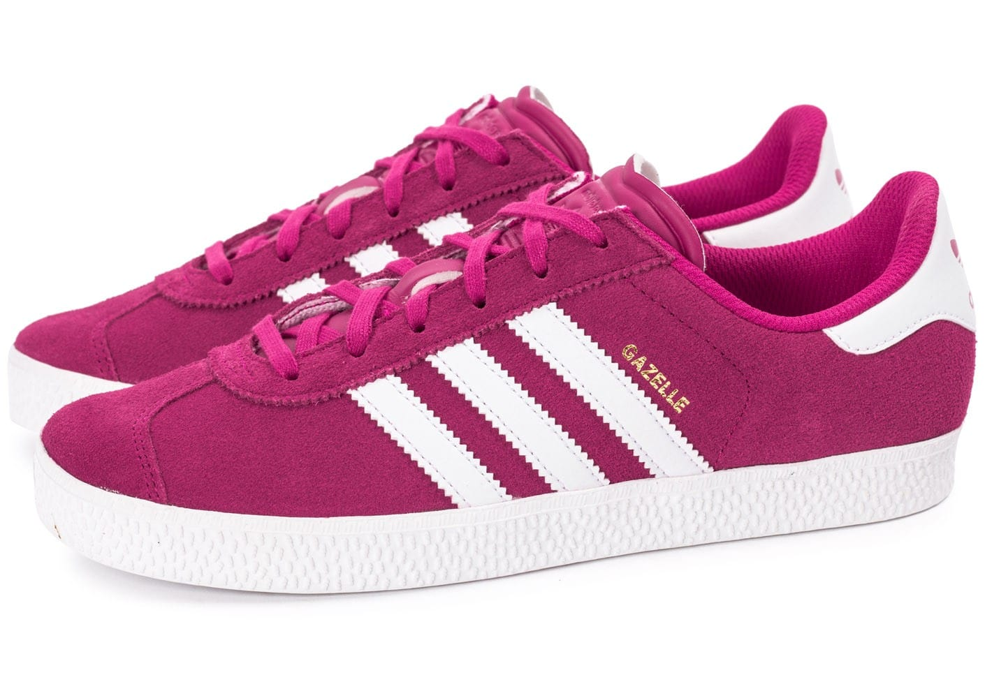 adidas gazelle 2 rose chaussures adidas chausport. Black Bedroom Furniture Sets. Home Design Ideas