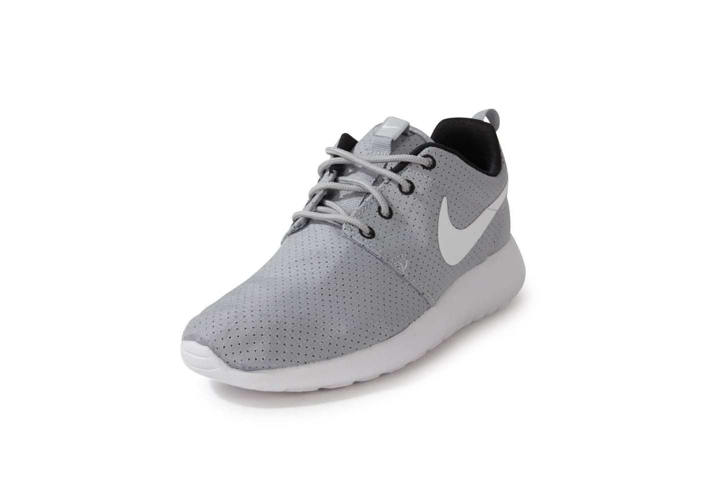 size 40 11f4b 73f64 ... chaussures nike roshe run grise vue avant .