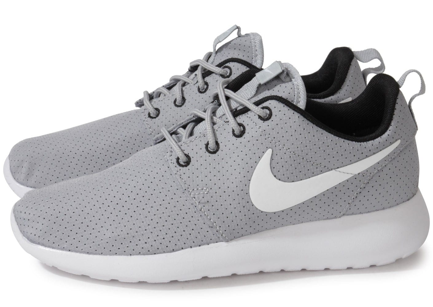 nike roshe run grise chaussures chaussures chausport. Black Bedroom Furniture Sets. Home Design Ideas