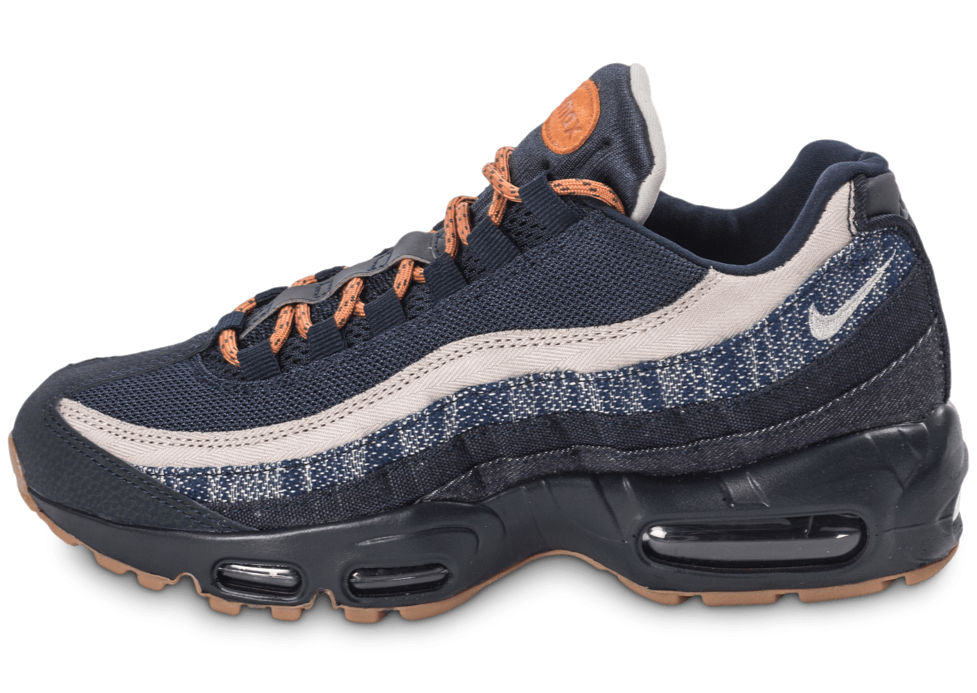 nike air max 95 premium denim chaussures homme chausport. Black Bedroom Furniture Sets. Home Design Ideas