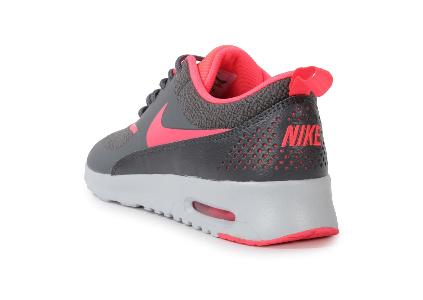 nike air max thea grise rose chaussures chaussures chausport. Black Bedroom Furniture Sets. Home Design Ideas