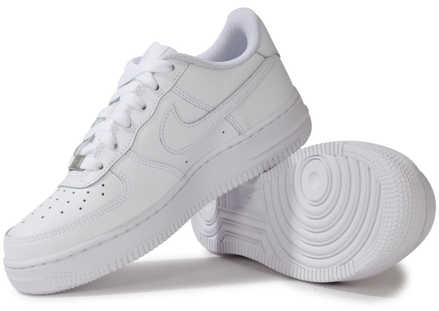 nike air force 1 junior blanche chaussures toutes les. Black Bedroom Furniture Sets. Home Design Ideas