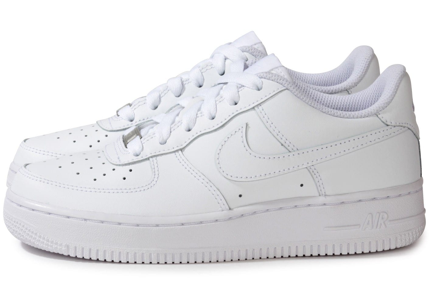 nike air force 1 junior blanche chaussures chaussures chausport. Black Bedroom Furniture Sets. Home Design Ideas