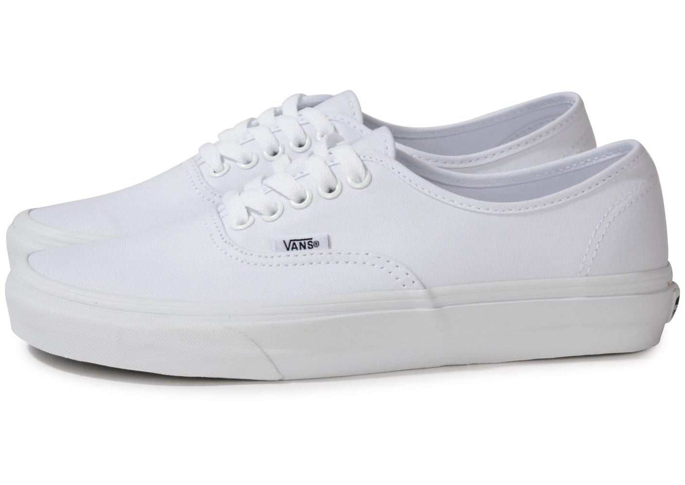 vans authentic blanche chaussures homme chausport. Black Bedroom Furniture Sets. Home Design Ideas