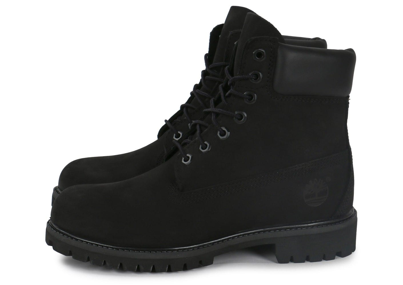 timberland 6 inch premium boot noir chaussures homme. Black Bedroom Furniture Sets. Home Design Ideas