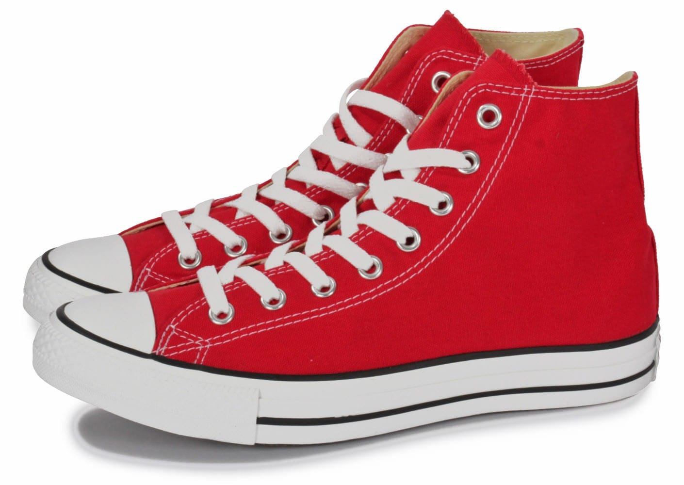 Converse Rouge Basse Homme