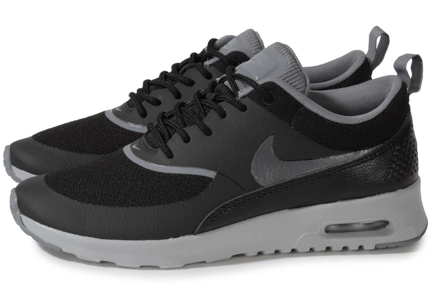 nike air max thea noire chaussures chaussures chausport. Black Bedroom Furniture Sets. Home Design Ideas