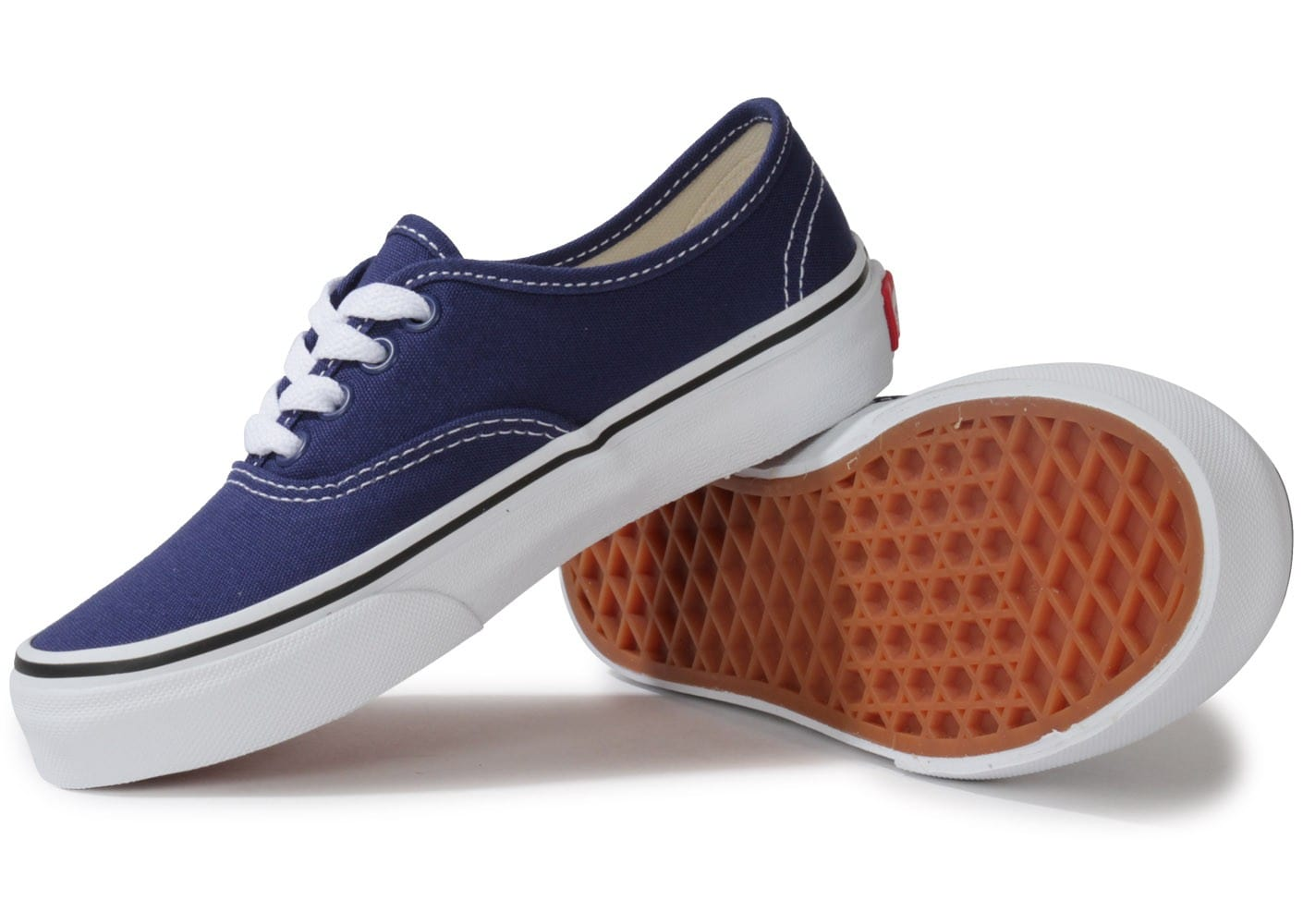 vans authentic enfant bleue chaussures toutes les baskets sold es chausport. Black Bedroom Furniture Sets. Home Design Ideas