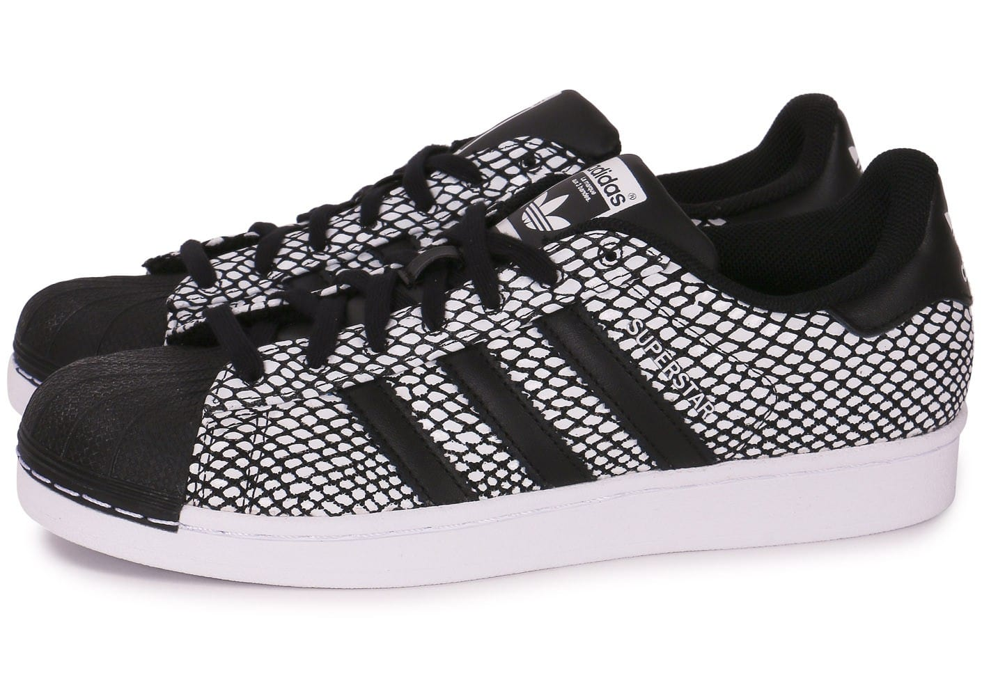 adidas superstar snake noire chaussures homme chausport. Black Bedroom Furniture Sets. Home Design Ideas