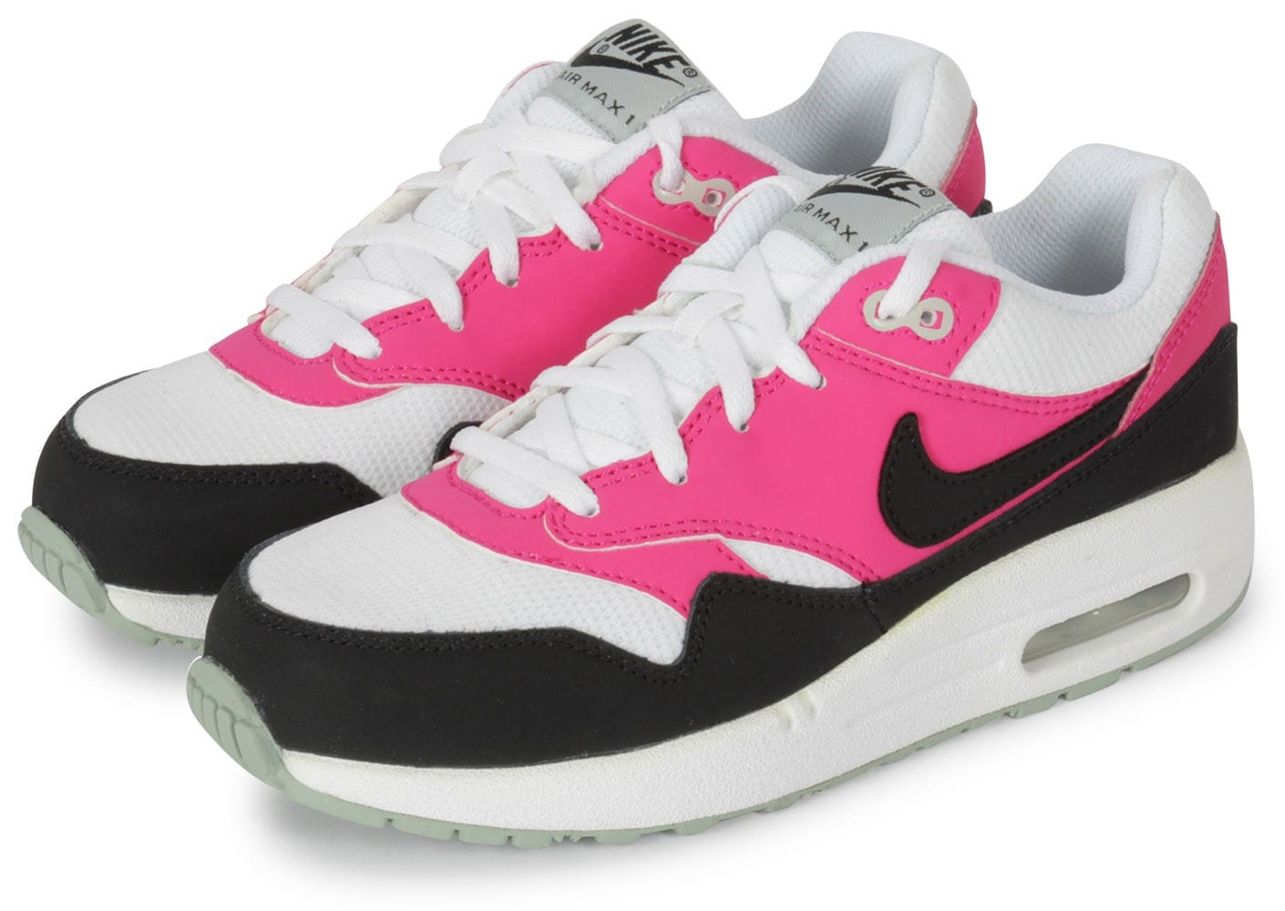 nike air max 1 enfant rose chaussures chaussures chausport. Black Bedroom Furniture Sets. Home Design Ideas