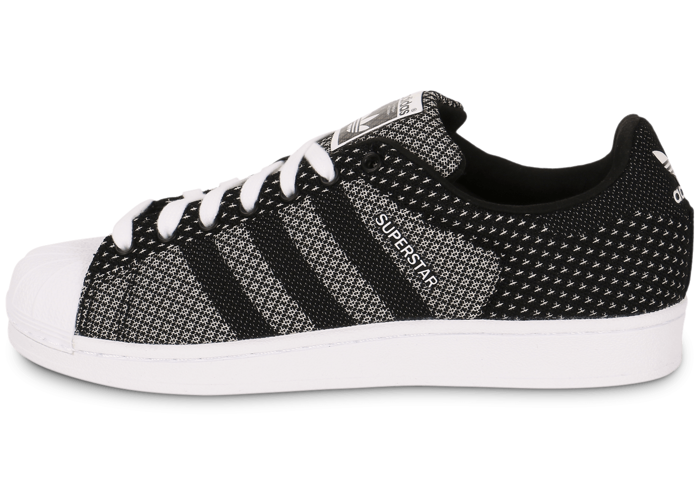 adidas superstar weave noire chaussures homme chausport. Black Bedroom Furniture Sets. Home Design Ideas