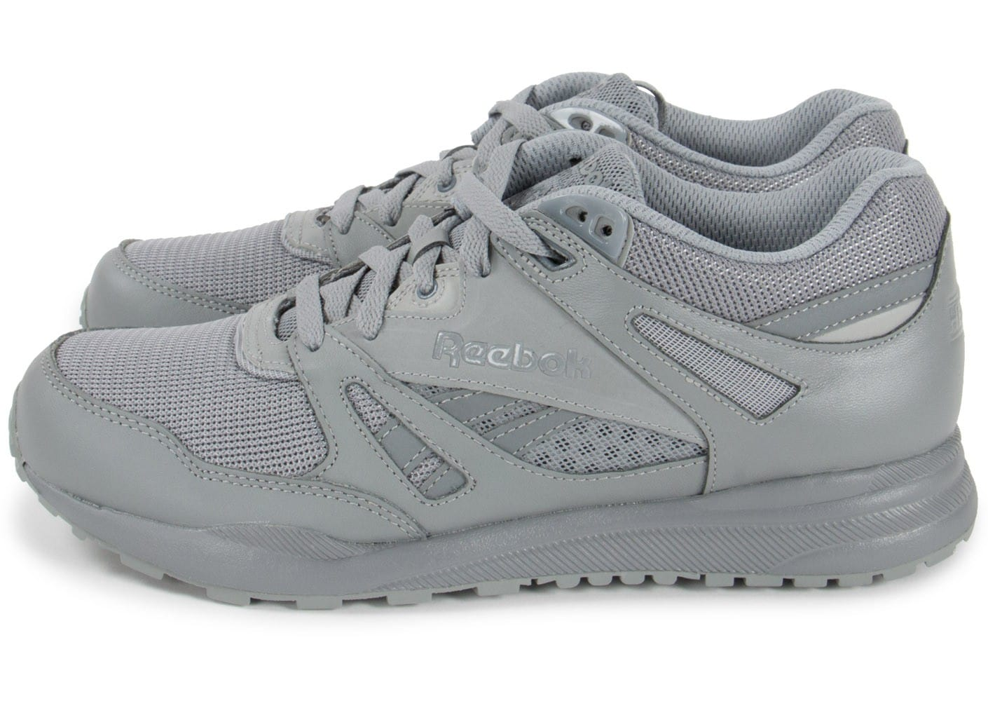 Chaussures Reebok grises homme P6bbFIcrf