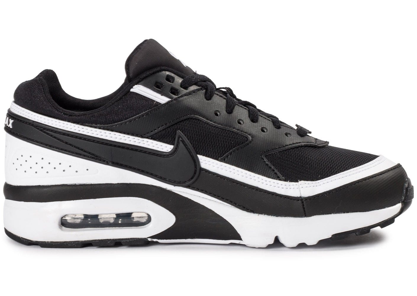 nike air max bw junior noire et blanche chaussures chaussures chausport. Black Bedroom Furniture Sets. Home Design Ideas