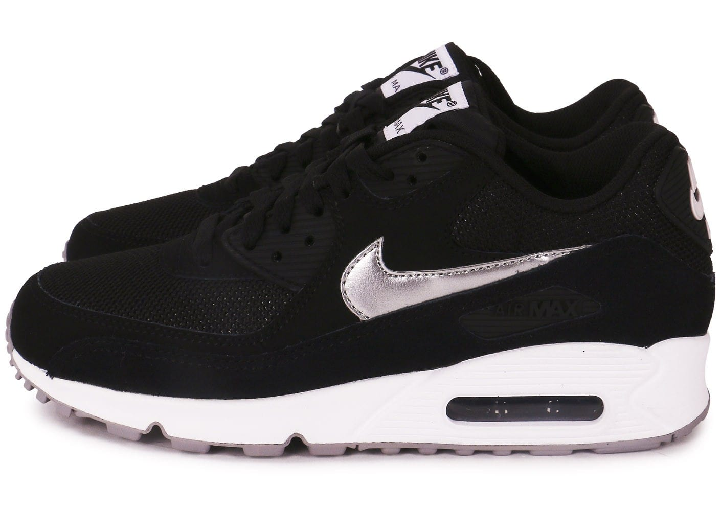 nike air max 90 noir et blanc chaussures homme chausport. Black Bedroom Furniture Sets. Home Design Ideas