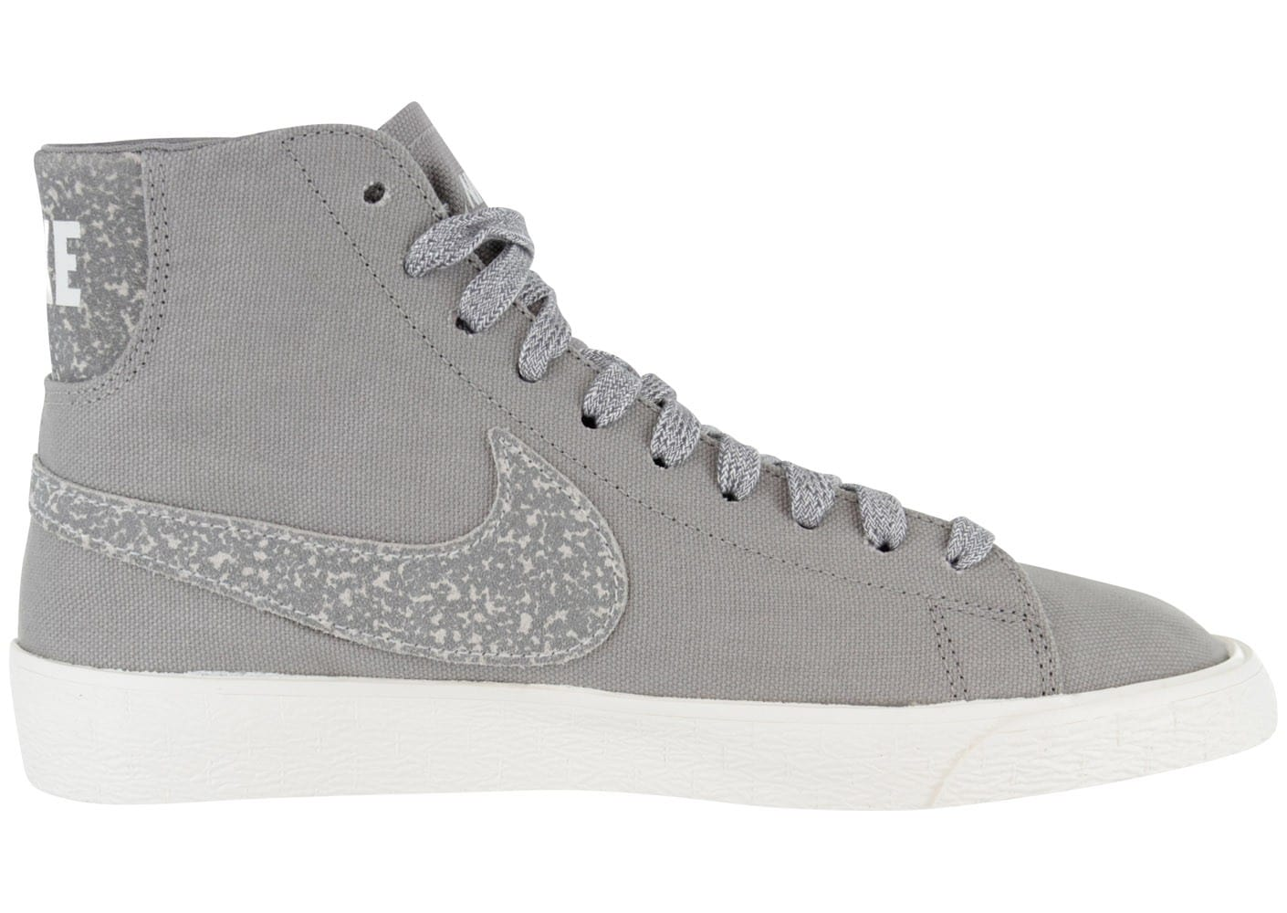 nike blazer toile deconstruct grise chaussures chaussures chausport. Black Bedroom Furniture Sets. Home Design Ideas