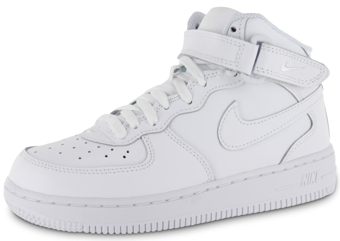 nike air force 1 mid enfant blanche chaussures toutes les baskets sold es chausport. Black Bedroom Furniture Sets. Home Design Ideas