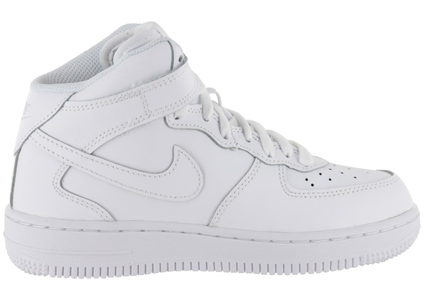 nike air force 1 mid enfant blanche chaussures enfant chausport. Black Bedroom Furniture Sets. Home Design Ideas