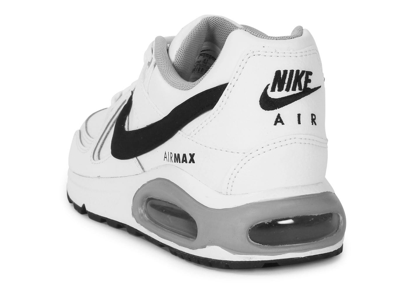 nike air max command blanche et noire chaussures homme chausport. Black Bedroom Furniture Sets. Home Design Ideas